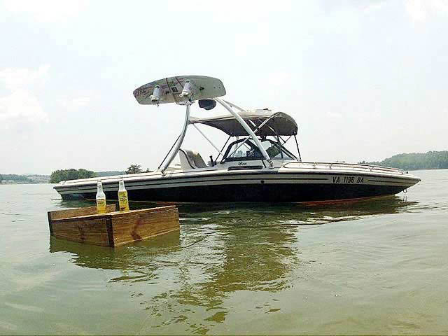 Wakeboard Tower for 1990 Supra Conbrio installed on 07/24/2013