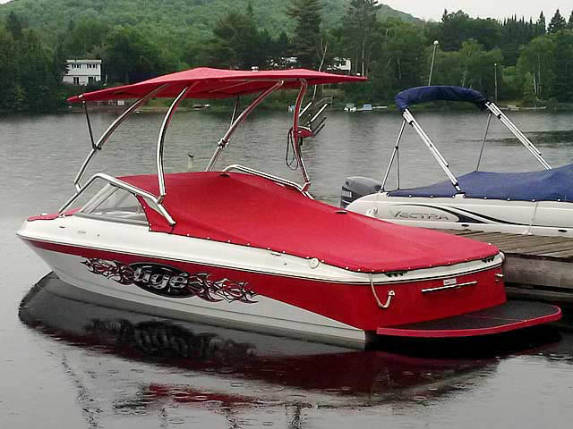 Wakeboard Tower for 2007 Tige 20i installed on 08/21/2015