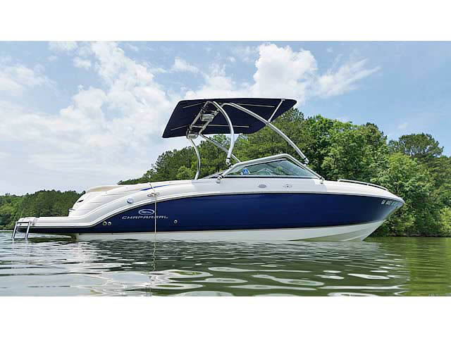 Wakeboard Tower for 2005 Chaparral 236 SSI installed on 08/21/2015