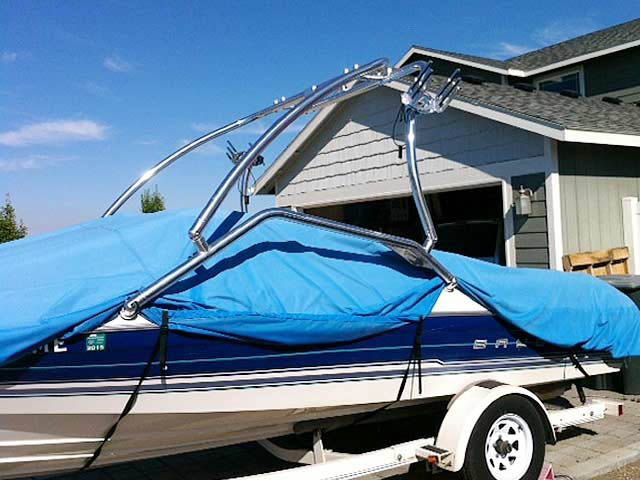Wakeboard Tower for 1994 Bayliner Capri 2050 installed on 06/26/2014