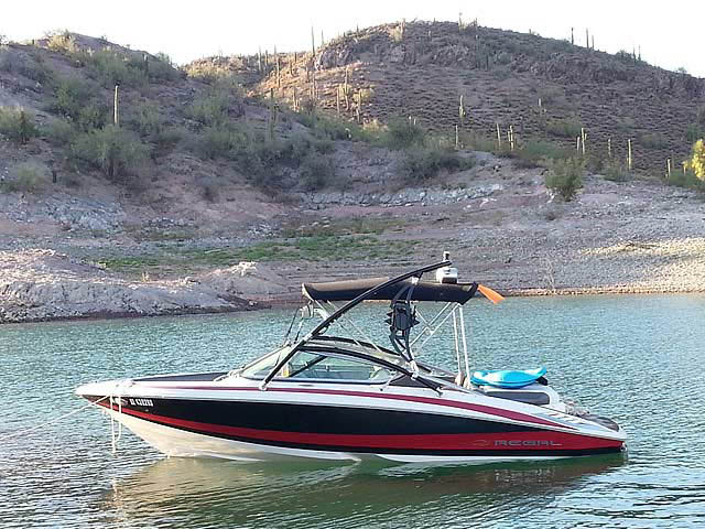 Wakeboard Tower for 2010 Regal 2100 LSR installed on 07/11/2014