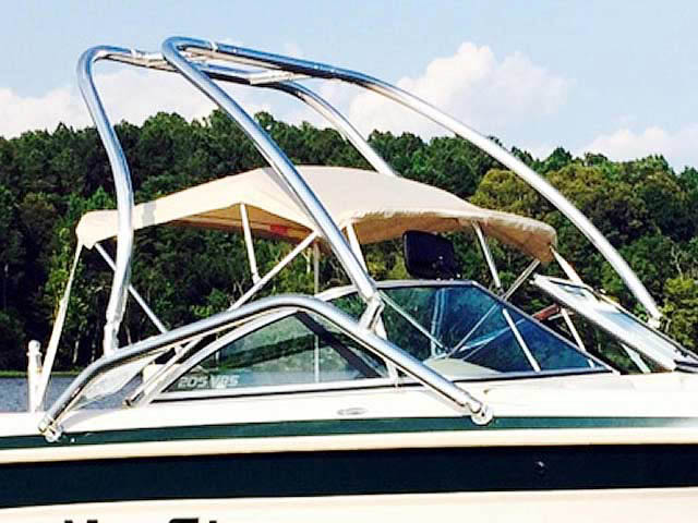 Airborne Tower wakeboard tower installed on 1999, MasterCraft Maristar 205 VRS boat