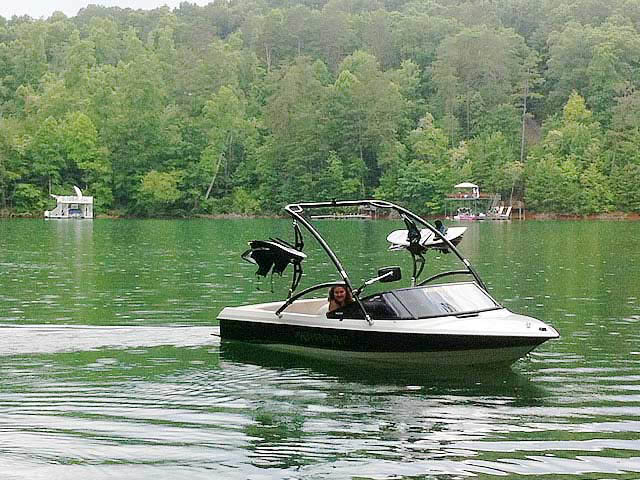 Wakeboard Tower for 1991 MasterCraft ProStar 190 installed on 07/14/2014