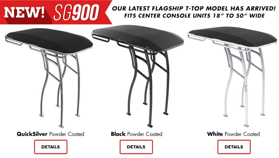 Brand new SG900 folding t-top model